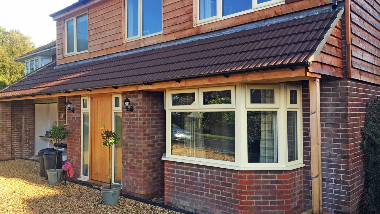 Dene after an extension and refit by Woodworx Property